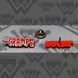 CRAMPS - Red - ENAMEL PIN