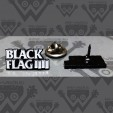BLACK FLAG - Logo Small - ENAMEL PIN